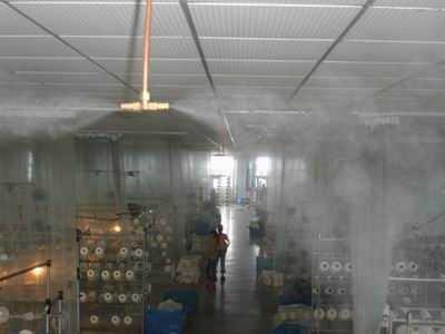 纺织加湿设备,西安南华人造雾设备制造厂