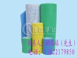 粗效过滤棉(蓝白棉、进风口棉),广州富瑞希空气净化过滤制品有限公司