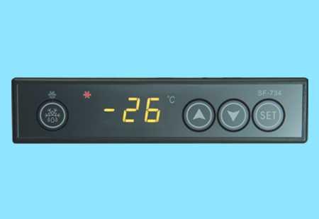 触摸屏温控器SF-734,中山市卓蓝电气有限公司