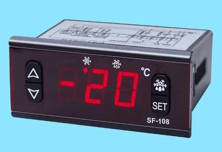 数显温控器SF-108,中山市卓蓝电气有限公司