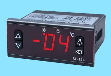 数显温控器SF-124,中山市卓蓝电气有限公司