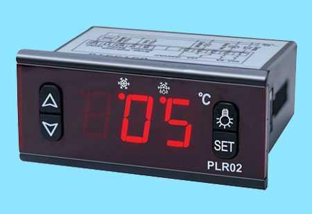 微电脑温控器PLR02,中山市卓蓝电气有限公司