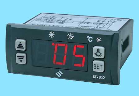 微电脑温控器SF-102,中山市卓蓝电气有限公司