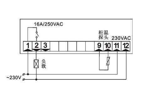 通用型温控器ED330,中山市卓蓝电气有限公司