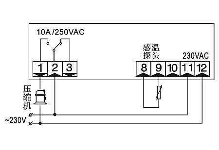通用型温控器SF-800,中山市卓蓝电气有限公司