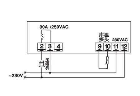 通用型温控器SF-101B,中山市卓蓝电气有限公司