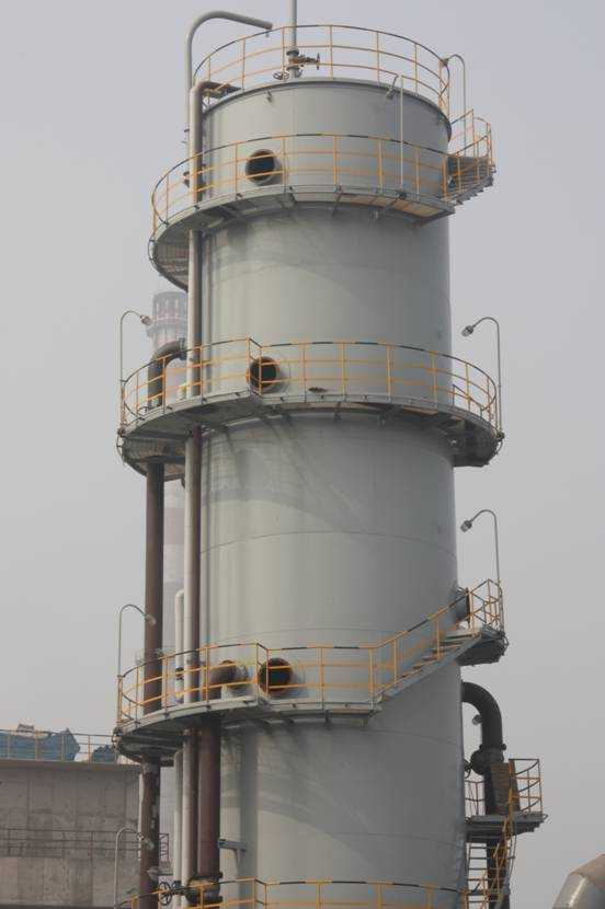 煤化气分离塔安装,湖南星泽安装有限公司