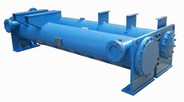 壳管式蒸发器-干式蒸发器-干式换热器,广州恒星冷冻机械制造有限公司镇江办事处