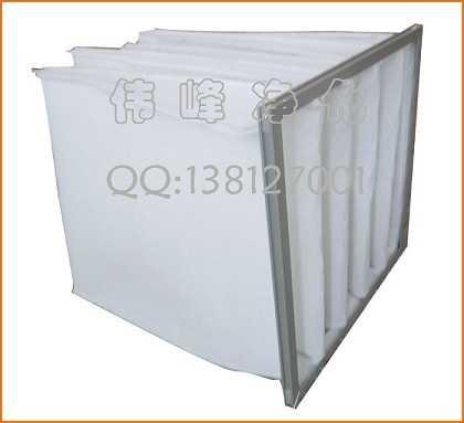 铝合金框袋式过滤器初效过滤棉粗效过滤器,吴江伟峰净化设备有限公司