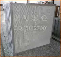 无隔板高效过滤器纤维过滤器,吴江伟峰净化设备有限公司