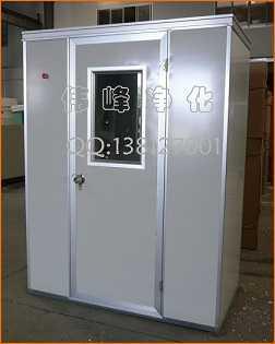 单人双吹风淋室吹淋房空气吹淋室,吴江伟峰净化设备有限公司