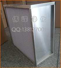 高效过滤器HEPA高效过滤器滤纸铝框高效,吴江伟峰净化设备有限公司