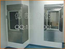 不锈钢传递窗自净式传递窗立式传递窗,吴江伟峰净化设备有限公司