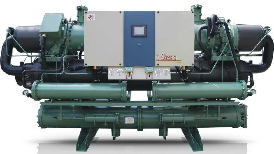 水冷螺杆式低温冷水机组 - 广州恒星冷冻机械制造有限
