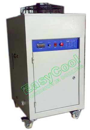 EOC系列油冷却机(制冷量0.8-35KW),CNC主轴温油冷冻机,油冷却器,油温机,液压油冷却机,依高冷热设备制造厂