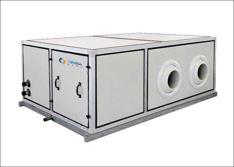 远距离送风水源热泵机组(吊装侧送风)