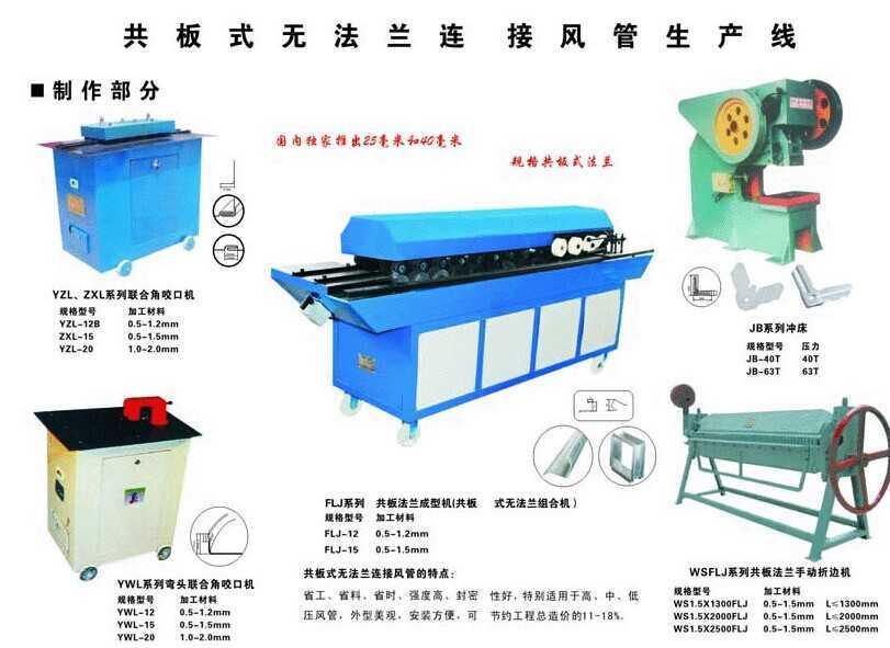 圆形风管制作生产线,陕西省建运工程机械有限责任公司