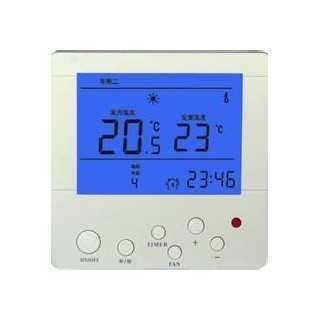 液晶温控器/风机盘管/中央空调液晶温控器现货供应,德州特菱通风设备有限公司
