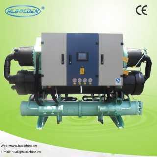 水冷螺杆式冷水机,水冷式冷水机,螺杆式冷水机,低温冷水机,深圳市金华利制冷设备有限公司