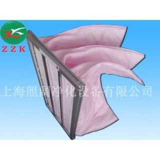 静电纤维袋式过滤器,上海照阔净化设备有限公司