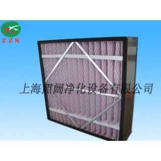 中效箱式褶型过滤器,上海照阔净化设备有限公司