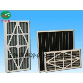 纸框活性炭折叠滤网 吸附能力强 去除效率高,上海照阔净化设备有限公司