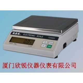电子天平T3000Y,厦门欣锐仪器仪表有限公司