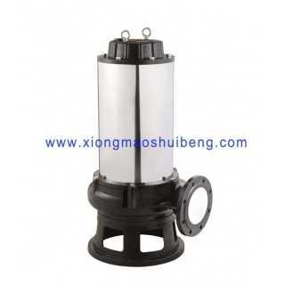 WQ50-25-32-5.5不锈钢搅匀排污泵,上海雄茂水泵厂