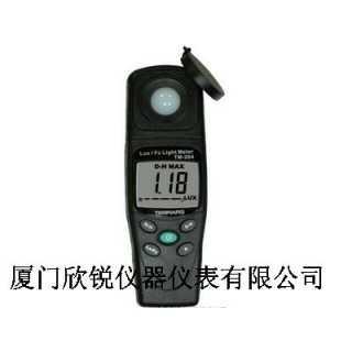 TM-204台湾泰玛斯TENMARS数字照度计TM204,厦门欣锐仪器仪表有限公司