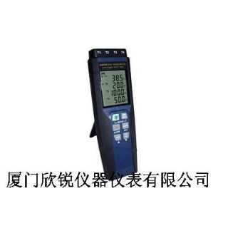 CENTER378台湾群特记录式四通道K,J,E T温度计