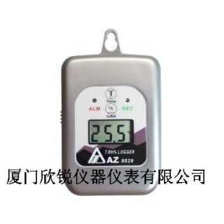 台湾衡欣AZ8829数字式温湿度记录仪,厦门欣锐仪器仪表有限公司