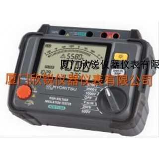 KEW3125A绝缘电阻测试仪日本共立KYORITSU克列茨,厦门欣锐仪器仪表有限公司