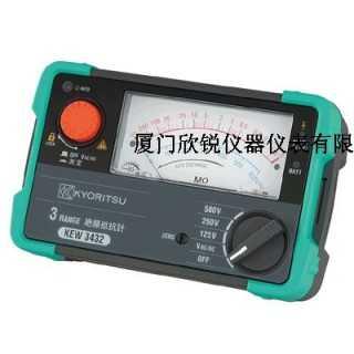 3431A日本共立指针式绝缘测试仪克列茨3321替代品,厦门欣锐仪器仪表有限公司