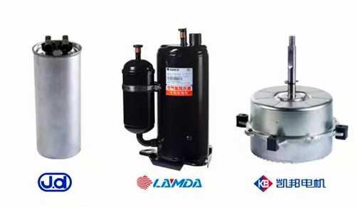 格力凌达单机双级热泵热水器专用压缩机