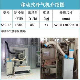 冬夏冷气机 工业冷风机 厂房降温空调 工作岗位冷气机,上海道赫实业发展有限公司
