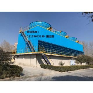 供应方形玻璃钢逆流式冷却塔山东锦山DNT150潍坊方形冷却塔,山东锦山传热科技有限公司